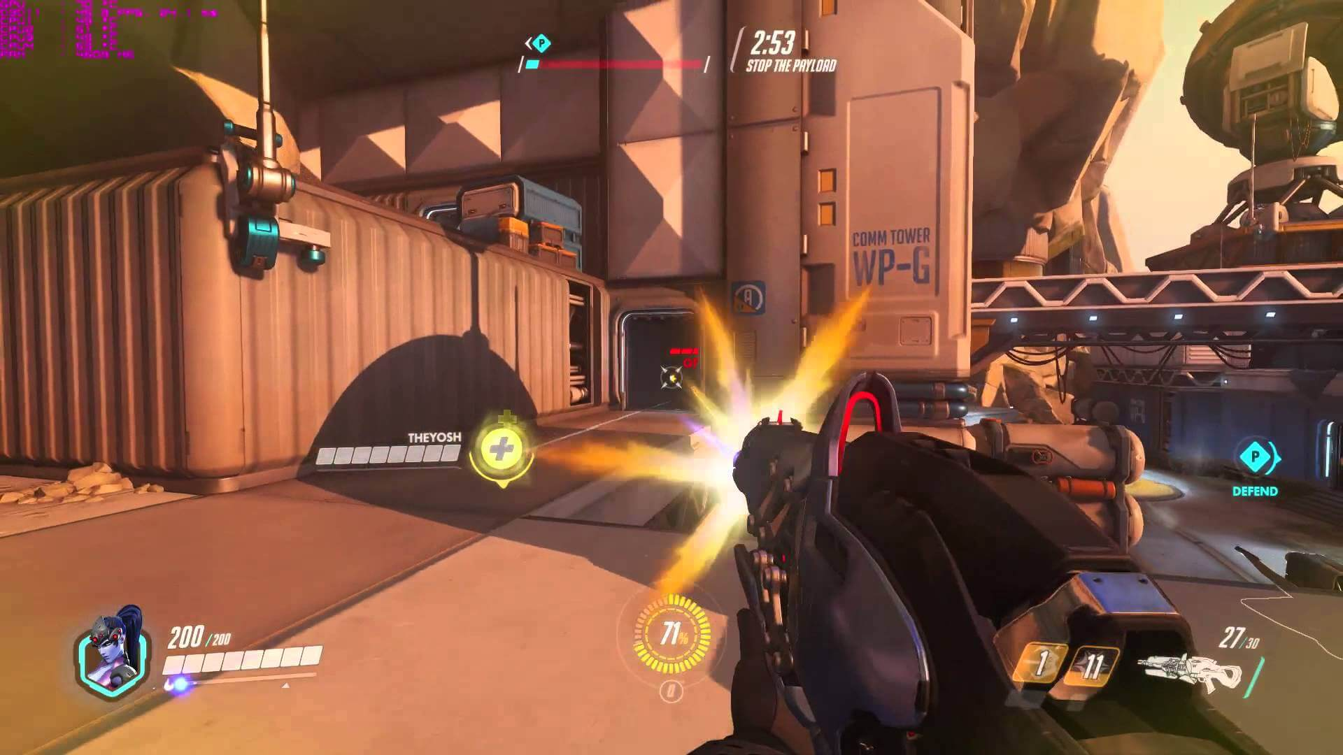 Overwatch stop the payload