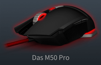 das m50 pro gaming mouse